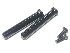 3Racing Aluminium Body Post 40mm -Black Color