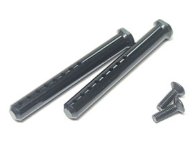 3Racing Aluminium Body Post 50mm - Black Color