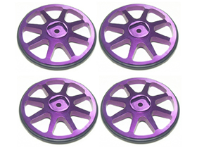 3Racing Set up Wheels - Purple Color (4 pcs)