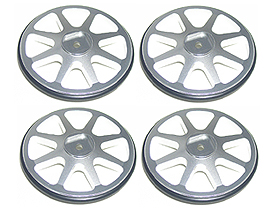 3Racing Set Up Wheels - Silver Color (4 pcs)