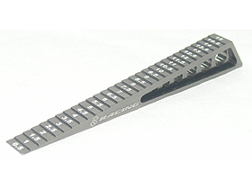 3Racing Chassis Ride Height Gauge 0-15 (step) - Titanium