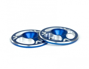 Triad Wing Buttons  Blue