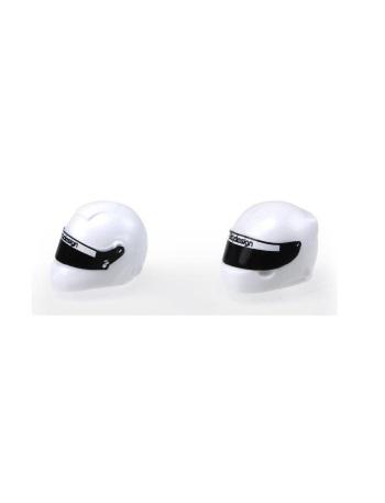 Bittydesign White Plastic Helmet Type-RX (universal)