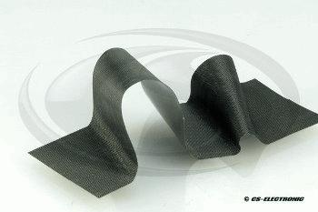 CS Electronic CS Carbon Flex Tape black-1m