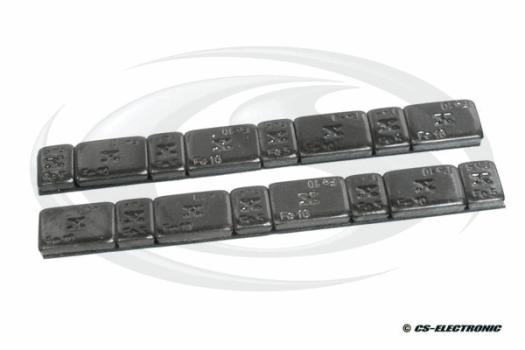 CS Electronic CORE weights 10g (8) + 5g (8) - black