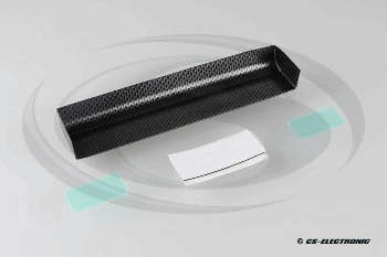 CS Electronic Touring Car Wing + 2 End Plates - Carbon