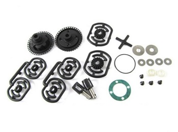 Team CSO Composite Differential Gear Set For CSO-1 T4 T3