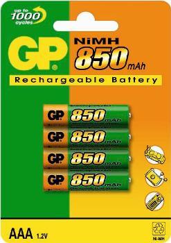 GP 850??A mAh NiMh