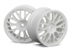 MESH WHEEL 26mm WHITE (1mm OFFSET)