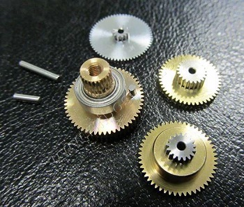 Highest Gear set ( 4piece gears +shaft pins ) - DLP-650