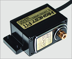 Highest DLP670 Low Profile digital servo Black (black servo horn)