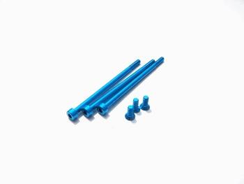 FLETA ZX V2 Aluminum Screw Set [T-Blue]