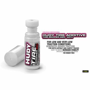 HUDY Tire Additive - Tire Gripper Red - 50ml
