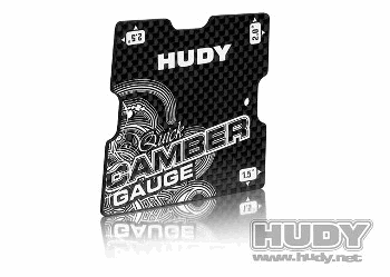 Hudy Quick Camber Gauge for 1/10 Touring 1.5Β° 2Β° 2.5Β°