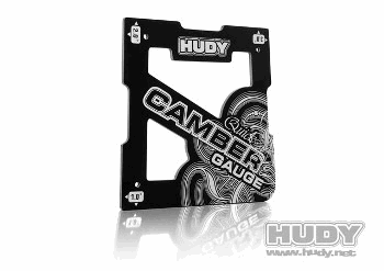 Hudy Quick Camber Gauge for 1/8 Off-Road 1Β° 2Β° 3Β°