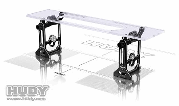 HUDY Universal Exclusive Set-Up System For 1/10 & 1/12 Pan Cars