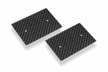 HUDY Graphite Rear Wing Side Plate 0.5mm - 1/10 Nitro (2)