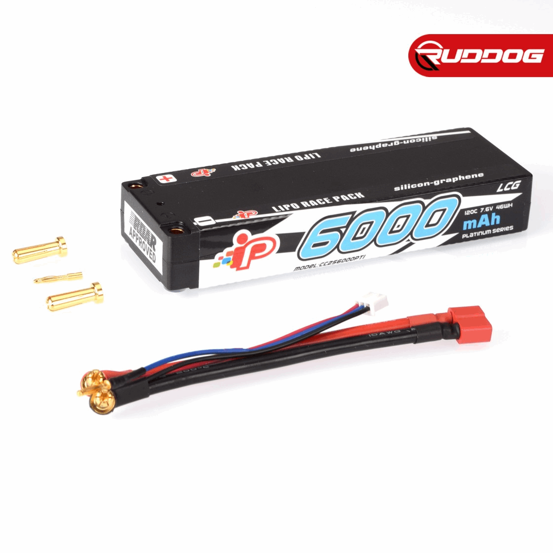 Intellect 6000mAh 120C 7.6V High Power LCG Graphene Stick Pack LiHV