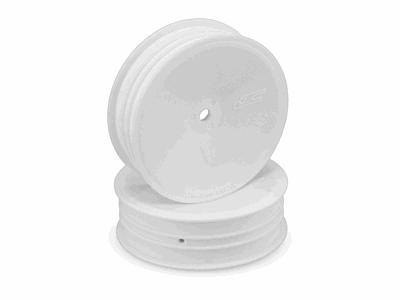 JConcepts Mono - 12mm Hex Slim Front Wheel - White (4pcs)
