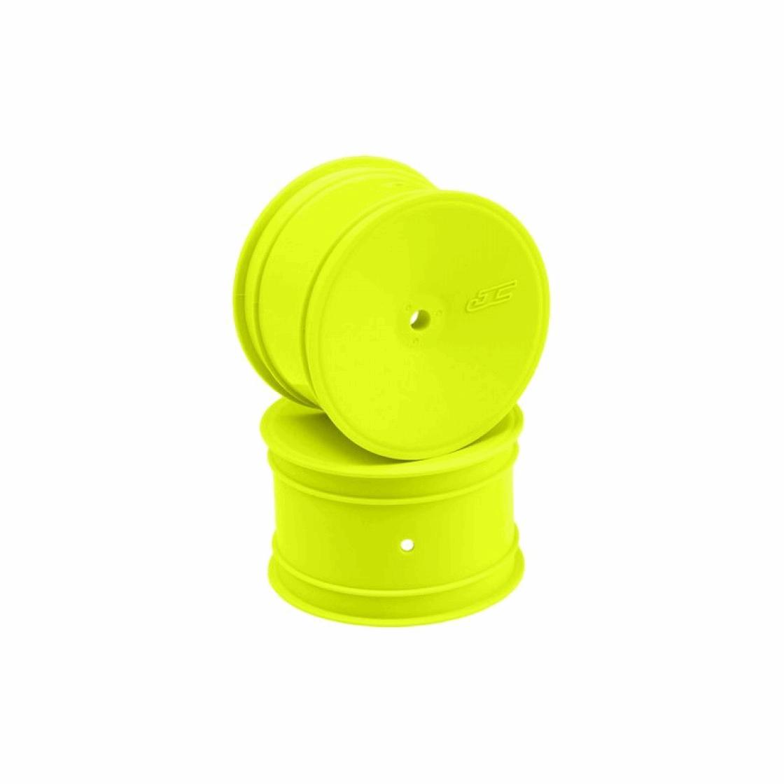 JConcepts Mono - 12mm Hex Rear Wheel - Yellow (4pcs)
