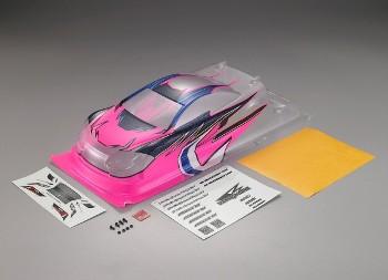 Killerbody Aeolus K1 Karosserie Half Painted Pink/Blue 190mm EFRA Lega