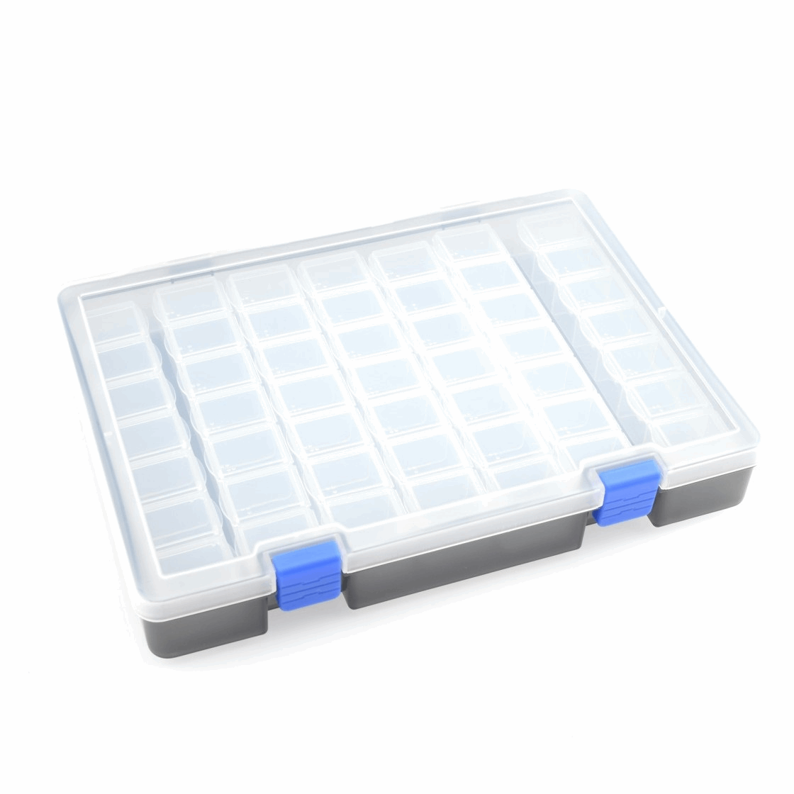 Koswork 7x7 Parts Box 245x175x38mm (49 compartments 7 each row)