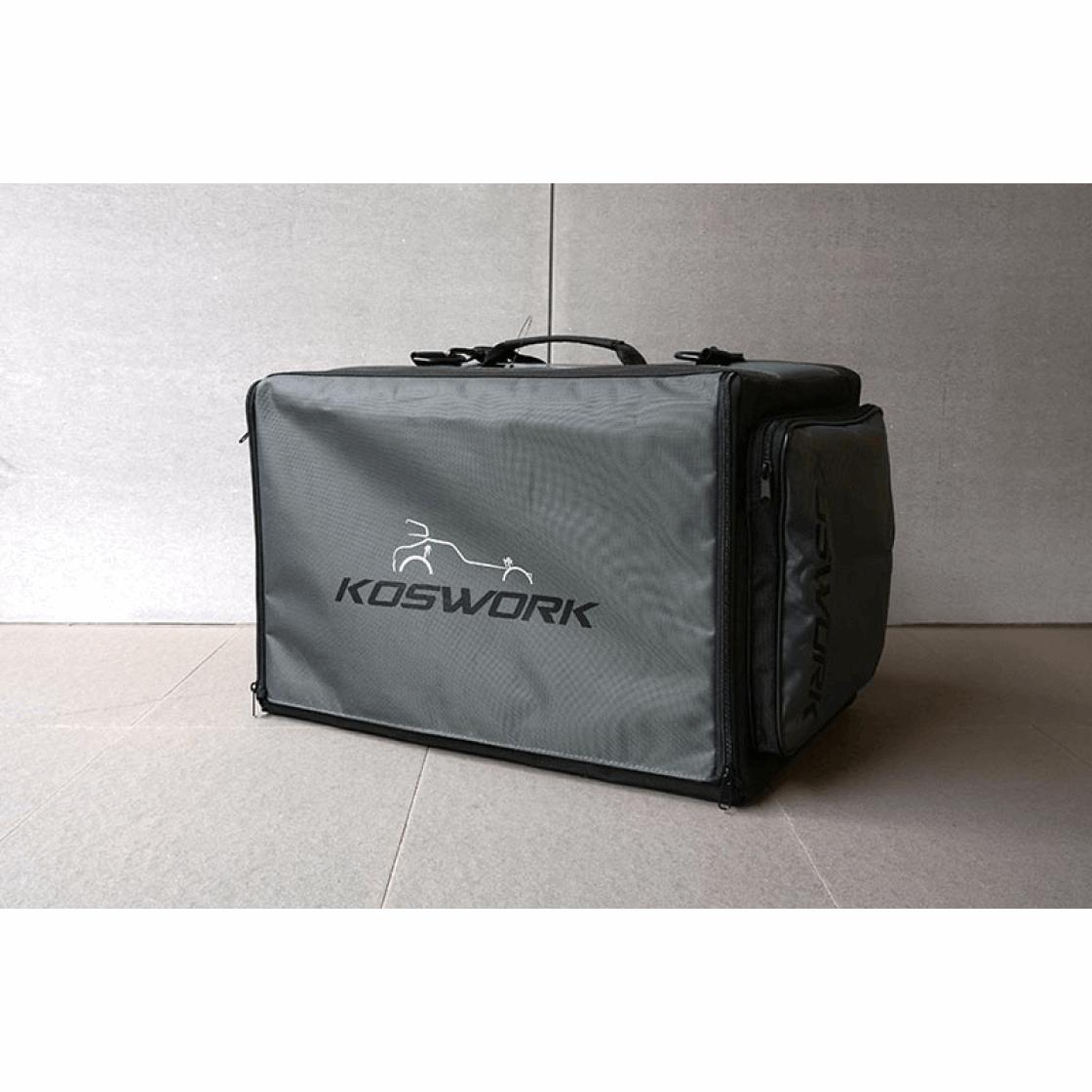 Koswork 1/10 Compact 3 Drawer Buggy Bag (1/10, 1 Large & 2 Medium)