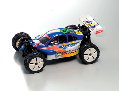 Kyosho Mini Inferno EP RTR 1/16