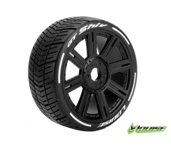 Louise RC GT-SHIV soft spoke rim black 1: 8 GT