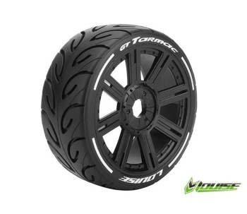 Louise RC GT-TARMAC supersoft spoke rim black 1: 8 GT