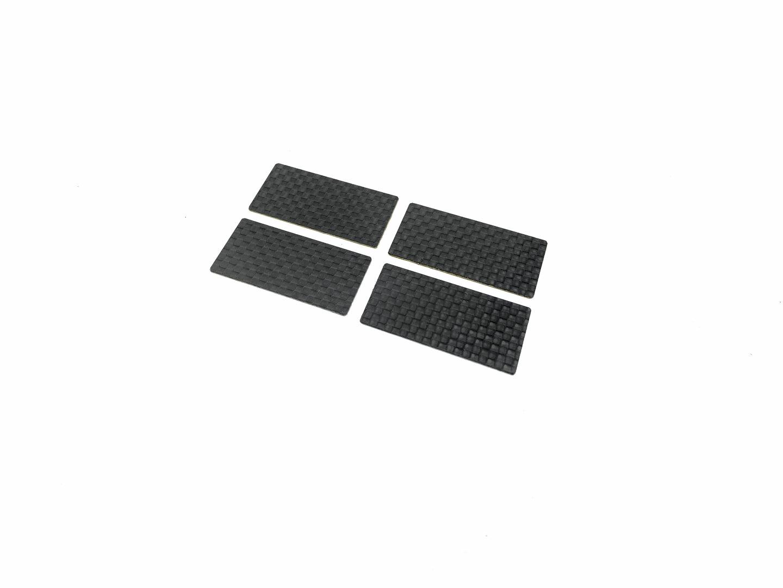 MXLR Carbon Winglet 1/10 TC - 40x20mm (4 pcs)