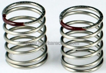 Marka 20MM 2.4 Linear Spring for XRAY T4 CSO (Brown) - 1 Pair