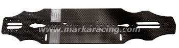 Marka Carbon Chassis 2.25mm for Xray T4 2019 V1 (Stock)