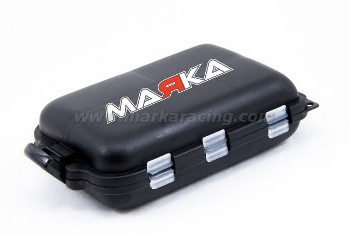 Marka Racing Hardware Box Ultra Small - 10 Compartments - 95x62x27mm