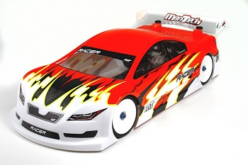 Mon-Tech Racer Touring Electric Car Clear Body 190mm (Lightweight)