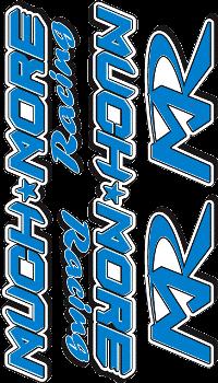Logo Decal 2005 Blue Standard