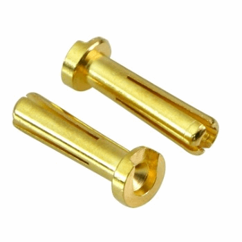 Low Height Euro Connector (Large Long 4mm) Male 2pcs.