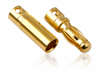 Euro Connector (Medium) Male 2pcs & Female 10pcs