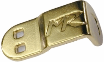 Premium L-Type End Bar Gold (10pcs)