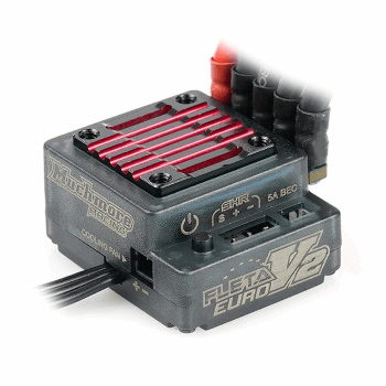 MuchMore FLETA Euro V2 Brushless ESC [High Current BEC Ver.]