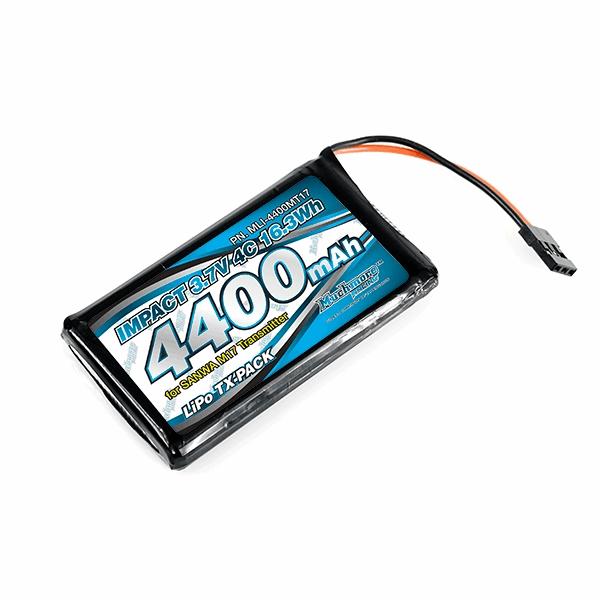Muchmore IMPACT Li-Po Battery 4400mAh/3.7V 4C for SANWA M17 Transmitter
