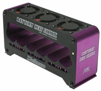 Battery Heatshink 2 for Charge & Discharge Purple