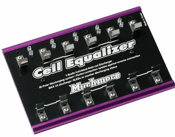 Cell Equalizer Purple (1-6cells Individual Auto-cut Discharger)
