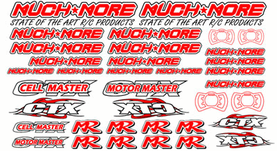 Logo Decal 2005 Red Standard