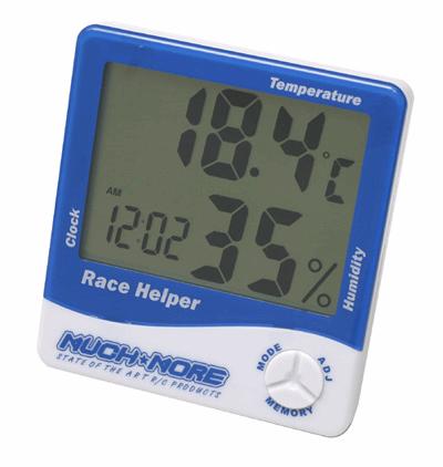 Race Helper (clock,temperature,humidity) Blue