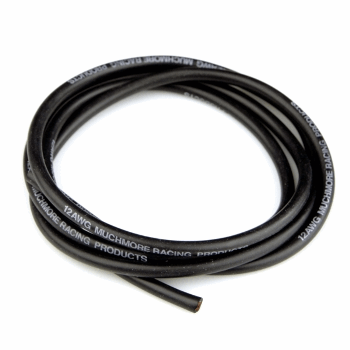 Muchmore Super Flexible High Current Silicon Wire 12 AWG Black 100cm