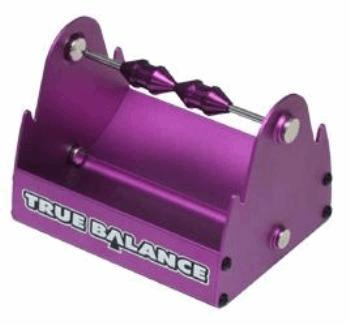 Multi Wheel Balancer for Buggy, Touring, 1/12 Purple