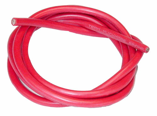 12 AWG Silveri Wire - Red 90cm