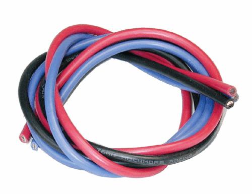 12 AWG Silveri Wire Set (B,K,R) 180cm