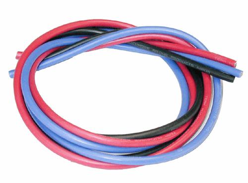 14 AWG Silveri Wire Set (B,K,R) 180cm